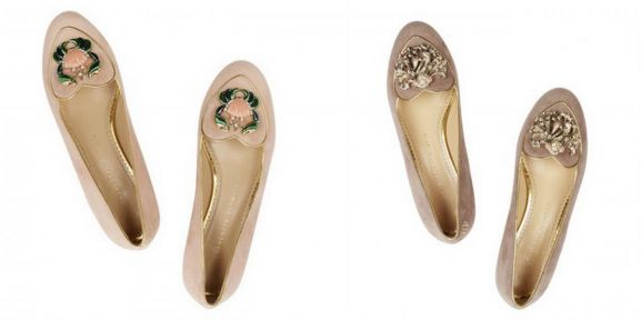 Charlotte Olympia Starsign Ballerinas