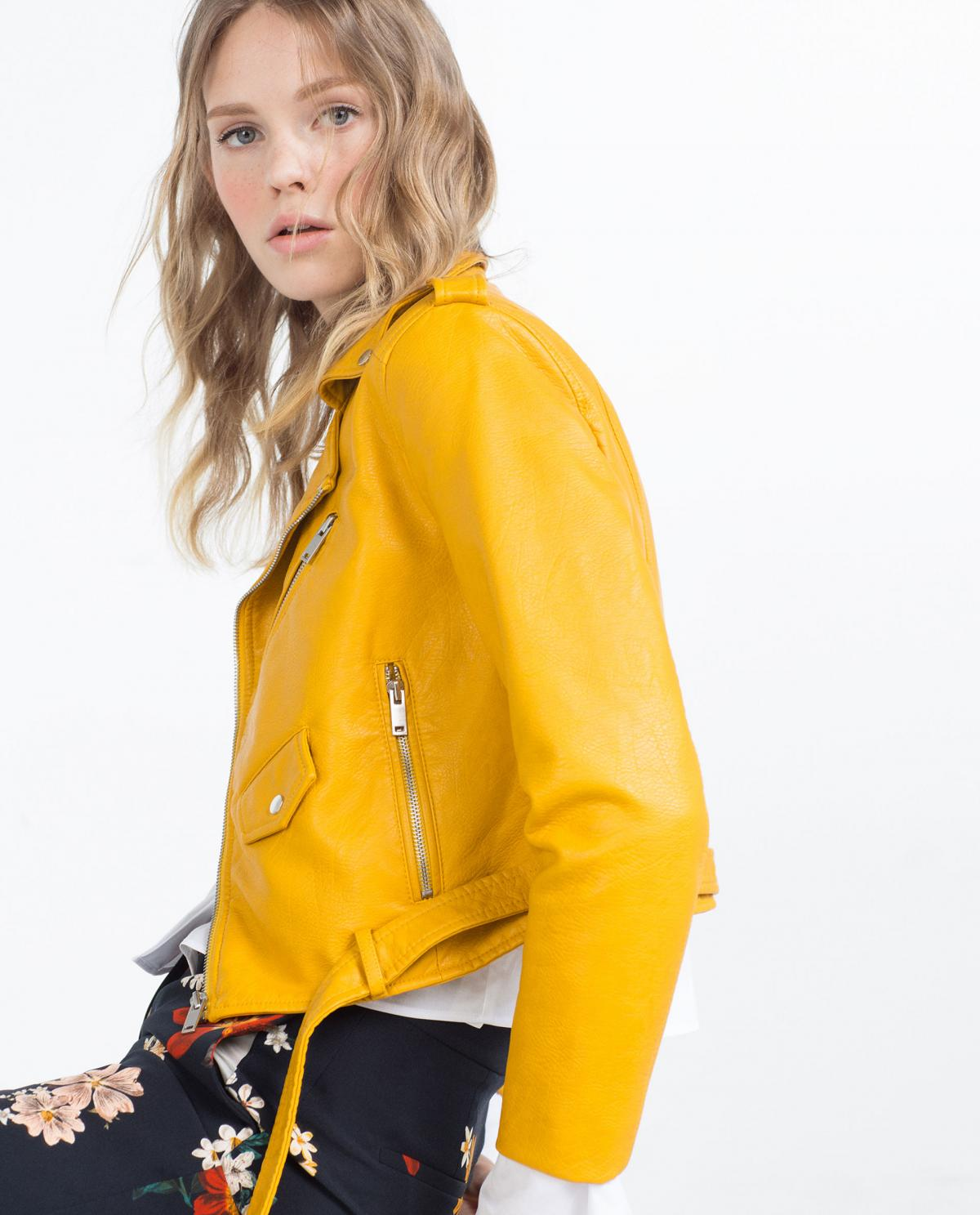 therandomnise.com_zara_bikerjacket_Yellow