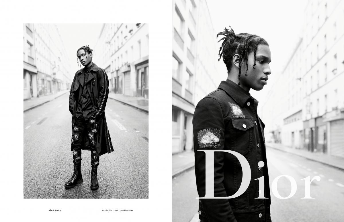 therandomnoisse.com_Dior Homme Summer 2017_Asap Rocky_DP1