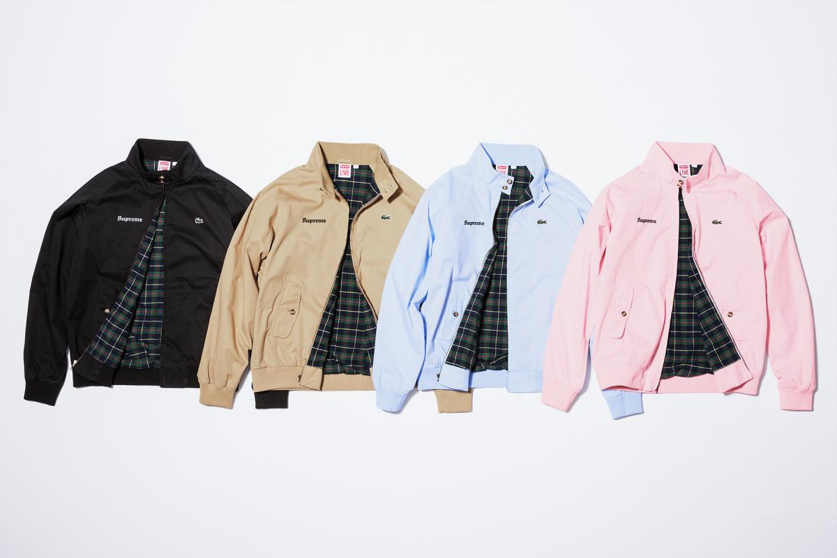 02.Supreme_Lacoste_ jackets
