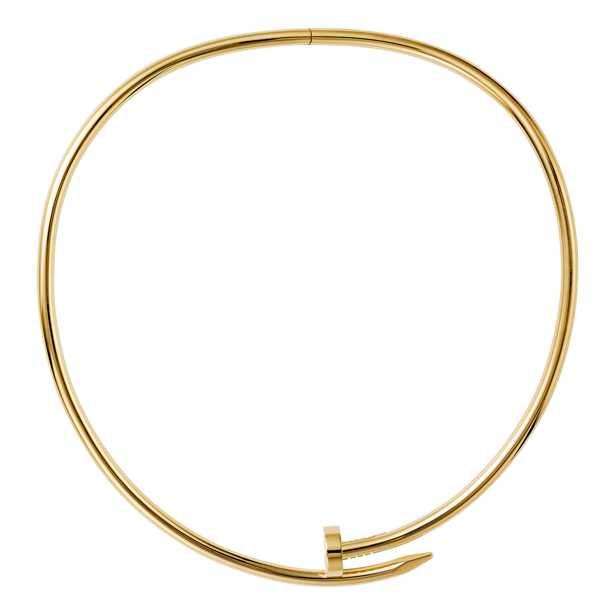 Juste Un Clou - Kette in Gold