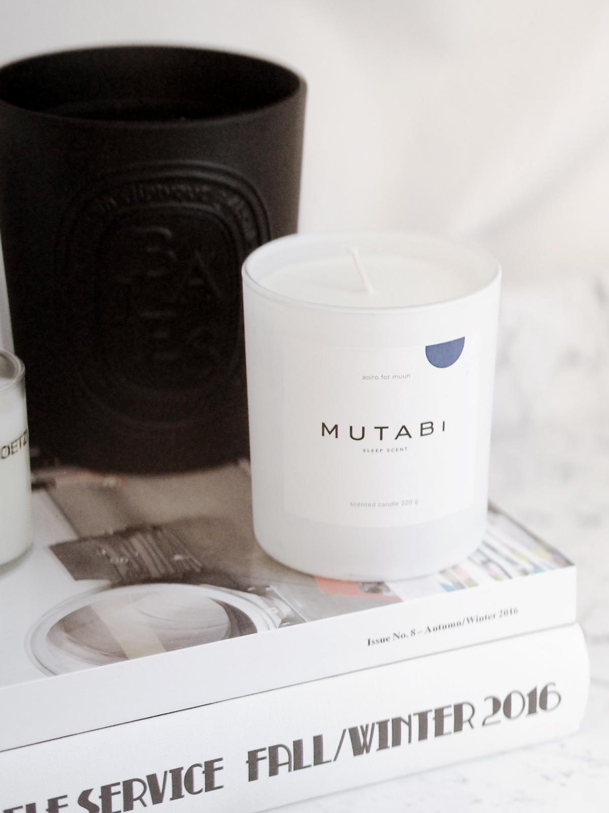 therandomnoise.com_Scented Candles_Diptyque GIANT CANDLE BAIES_Aoiro for Muun Mutabi Sleep Scent